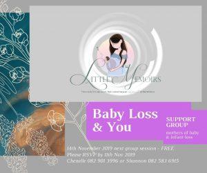 Pregnancy and infant loss workshop